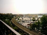il porto e la ferrovia  - Catania (2716 clic)