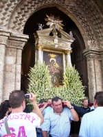 Uscita Madonna di Custonaci per la Processione.  - Erice (3113 clic)