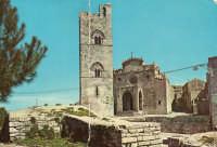 Duomo di Erice, in una cartolina del 1973  - Erice (8317 clic)