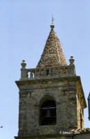 Il campanile policromo della Chiesa Madre.  - Geraci siculo (3006 clic)