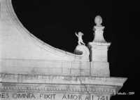 Chiesa di San Sebastiano, particolare della facciata.  - Ferla (4561 clic)