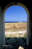 Uno scorcio della costa ad est.  - Thapsos (6233 clic)