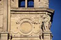 Chiesa dei SS. Pietro e Paolo, particolare della facciata.  - Acireale (3083 clic)