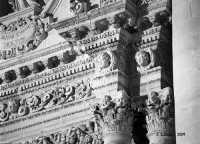 Particolare della facciata della Chiesa Madre di San Giovanni Evangelista.  - Sortino (3679 clic)