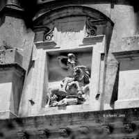 San Giorgio su facciata San Giacomo RAGUSA Emanuele Schembri