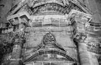Chiesa dell'Immacolata, o di S. Francesco, particolare dell'architrave.  - Siracusa (3114 clic)