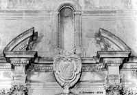 Chiesa Madre, perticolare dell'architrave che sovrasta il portale.  - Ferla (1286 clic)