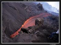 Verso la valle del Bove  - Etna (1969 clic)