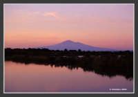 L'Etna visto dalle saline di Priolo (SR)   - Priolo gargallo (5345 clic)