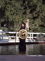 Teatro Greco di Siracusa - Ilaria Genatiempo interpreta Atena, nell'Aiace di Sofocle - Ciclo di rappresentazioni classiche 2010.  - Siracusa (4493 clic)