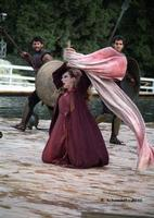 Teatro Greco di Siracusa - Elisabetta Pozzi interpreta Tecmessa, nell'Aiace di Sofocle - Ciclo di rappresentazioni classiche 2010.  - Siracusa (3148 clic)