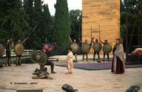 Teatro Greco di Siracusa - Maurizio Donadoni interpreta l'Aiace di Sofocle - Ciclo di rappresentazioni classiche 2010.  - Siracusa (3171 clic)