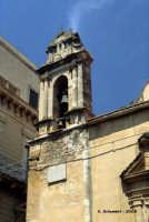 Torre campanaria della chiesa di S. Antonio, con meridiana.  - Nicosia (5471 clic)