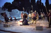 Teatro Greco di Siracusa - Aiace di Sofocle - Ciclo di rappresentazioni classiche 2010.  - Siracusa (4459 clic)