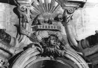 San Giorgio, un dettaglio della facciata. MODICA Emanuele Schembri