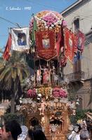 Festa di S. Agata 1990   - Catania (1856 clic)