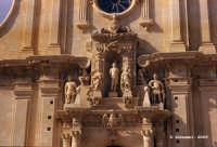 Chiesa di S. Sebastiano, il gruppo scultoreo dedicato al martirio.  - Ferla (1596 clic)