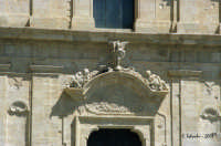 La Chiesa Madre, particolare della facciata.  - Grammichele (4081 clic)
