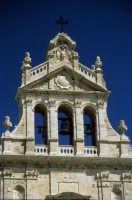 La Chiesa Madre, particolare della facciata.  - Grammichele (5305 clic)