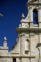 La Chiesa Madre, particolare della facciata.  - Grammichele (4917 clic)