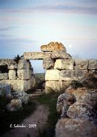 Castello Eurialo. La porta di accesso al mastio.  - Siracusa (4996 clic)