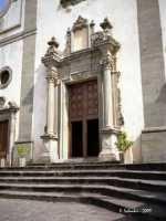 Il portale della Chiesa Madre.  - Forza d'agrò (8467 clic)