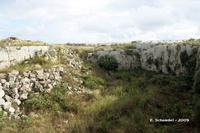 Castello Eurialo. Il secondo fossato.  - Siracusa (4982 clic)