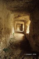Castello Eurialo. Galleria interna al terzo fossato.  - Siracusa (4346 clic)