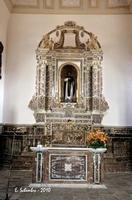 Chiesa di S. Antonio Abate, l'altare.  - Castiglione di sicilia (4018 clic)