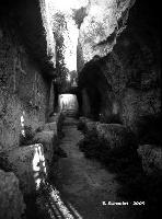 Castello Eurialo. Camminamento interno.  - Siracusa (5128 clic)