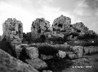 Castello Eurialo. Le torri del mastio.  - Siracusa (4509 clic)