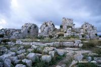 Castello Eurialo. Le torri del mastio.  - Siracusa (4303 clic)