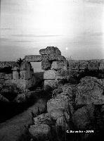 Castello Eurialo. La porta di accesso al mastio.  - Siracusa (4393 clic)