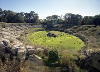 Anfiteatro romano   - Siracusa (2615 clic)