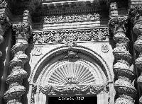 Chiesa dell'Annunziata.   - Palazzolo acreide (1997 clic)