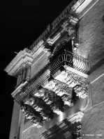 Palazzo Nicolaci di Villadorata, particolare.  - Noto (1911 clic)