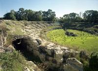 Anfiteatro romano   - Siracusa (2612 clic)