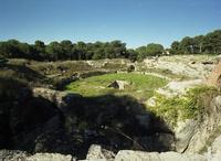 Anfiteatro romano   - Siracusa (2970 clic)