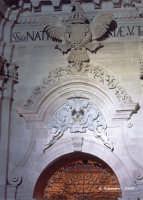 Particolare del portale della Cattedrale  - Siracusa (1324 clic)