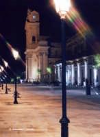 La Chiesa Madre, uno scorcio notturno.  - Canicattini bagni (3335 clic)