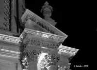 Chiesa della SS. Annunziata, particolare dell'architrave  - Ispica (4344 clic)