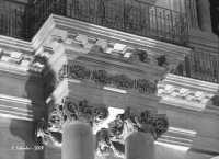 Chiesa della SS. Annunziata, particolare della facciata.  - Ispica (4449 clic)