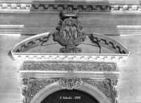 Chiesa della SS. Annunziata, il portale. ISPICA Emanuele Schembri