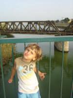 licata ponte sul fiume salso  un bacino !!!!  - Licata (2049 clic)