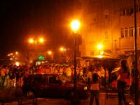 la pioggia non frena i festeggiamenti per l'ITALIA campione del mondo ( luglio 2006 )  - Aspra (4846 clic)