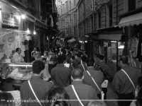Banda musicale alla Vucciria. PALERMO Walter Lo Cascio