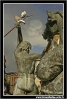 Caltanissetta: Fontana del tritone... vista da dietro.  - Caltanissetta (2978 clic)