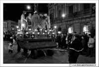 Caltanissetta: Settimana Santa. Giovedì Santo. Momento della processione.  - Caltanissetta (3176 clic)