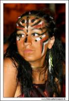 Agira, Agosto 2005. Carnevale Estivo 2005. Ragazza in maschera #7  - Agira (2647 clic)