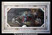 Troina: Oratorio del Rosario ( XVIII/XIX sec. ):Particolare di pittura.  - Troina (1132 clic)